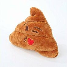 WOOAI Emoji Kissen Smiley Emoji Kissen für Sofa