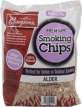 Wood Smoking Chips schwefelfrei Tasche von Erle Rauchen und BBQ Grill natürliches Holz Chips