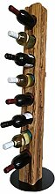 Wood & Wishes – Rustikaler Weinständer,