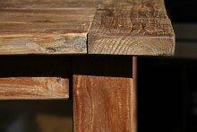 Wooden Affairs Massivholz-Tisch aus altem Teakholz