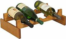 Wooden Mallet Holzhammer 4-Bottle Dakota Weinregal