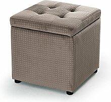 Wooden stool Hocker, Stehhocker, Tragen eines Hockers, für Schuhhocker, Pier, Zaun Sofa Hocker, Hocker (größe : 34*34*36cm)