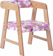 Wooden stool - home Massivholzsessel Haushalt