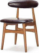 Wooden stool Massivholz-Rückenlehnstühle,