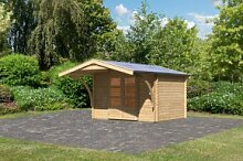 Woodfeeling Holz Gartenhaus Bayreuth 3 inkl.