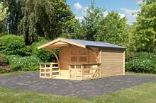Woodfeeling Holz Gartenhaus Bayreuth 4 inkl.