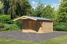 Woodfeeling Holz Gartenhaus Bayreuth 5 inkl.
