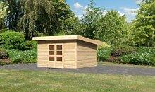 Woodfeeling Holz Gartenhaus Northeim 4 - 38mm