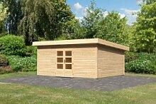 Woodfeeling Holz Gartenhaus Northeim 6 - 38mm