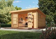 Woodfeeling Holz Gartenhaus Trittau 6 - 38mm