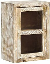 Woodkings® Bad Hängeschrank Bitna Mango Holz