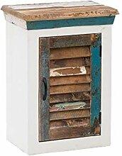 Woodkings® Bad Hängeschrank Perth weiß