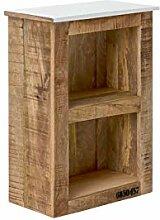 Woodkings® Bad Hängeschrank Pune Holz Natur