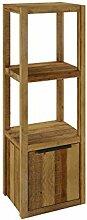 Woodkings® Bad Regal schmal Sydney massiv Holz