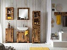 Woodkings® Bad Set Baddi Echtholz Akazie massiv