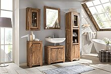 Woodkings® Bad Set Leeston Echtholz Palisander