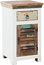 Woodkings® Bad Unterschrank Perth recyceltes Holz