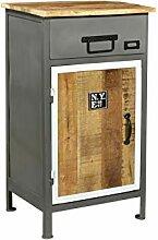Woodkings® Bad Unterschrank Pinetown Metall