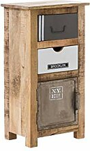 Woodkings® Bad Unterschrank Pune Holz Natur
