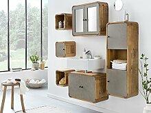 Woodkings® Badmöbel Set Dingle II Holz Pinie