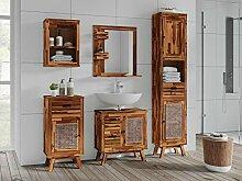 Woodkings® Badmöbel Set Surabaya Holz Akazie