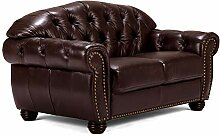 Woodkings® Chesterfield Hereford Sofa 2-Sitzer