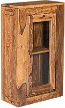 Woodkings Hängeschrank Leeston Echtholz Palisander lackiert Badmöbel Badezimmer Wandschrank Badezimmerschrank Badschrank Massivholz