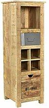 Woodkings® Hochkommode Pune Holz Natur braun