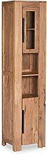 Woodkings® Hochschrank Auckland Echtholz Akazie