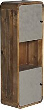 Woodkings® Hochschrank Dingle Badezimmermöbel