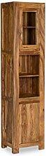 Woodkings® Hochschrank Leeston Echtholz