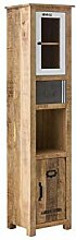 Woodkings® Hochschrank Pune Badmöbel Holz