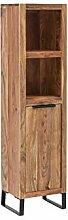 Woodkings® Hochschrank Sydney schmal massiv Holz