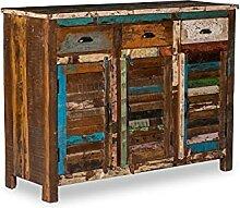 Woodkings® Sideboard Wakefield 3tür, recyceltes