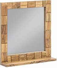 Woodkings® Spiegel 67x70cm Baddi Holz rustikal
