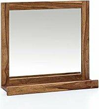 Woodkings® Spiegel Lagos 70x66 cm Echtholz Rahmen