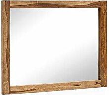 Woodkings® Spiegel Lagos 80x60 Holz Rahmen