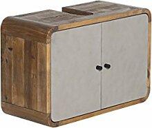 Woodkings® Waschbeckenunterschrank Dingle Holz