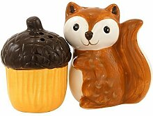 Woodland Friends Salt And Pepper Set by Boston