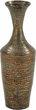 Woodland Imports Vase, lackiert, Bambus