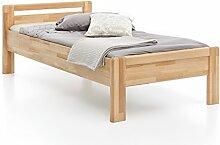 Woodlive Massivholz-Bett aus Kernbuche, als