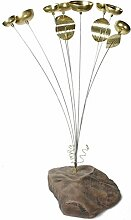 Woodstock Windspiel Garden Bell, Gold, 61,0 cm
