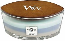 WoodWick Trilogy-Duftkerze im ellipsenförmigen
