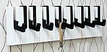 Woody Klavier Dekoration Eingang Kleiderständer Kleiderbügel Wand Hängen Garderoben Kleiderschrank Garderobe ( Farbe : #2 )