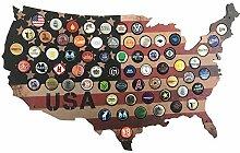 Woofdog USA Bierdeckel Karte zum Basteln