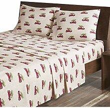 Woolrich Bettwäsche-Set, besonders weich Lodge;