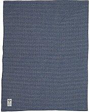 Woolrich, Inc. Mini Buffalo Doubleface Wolldecke, blau