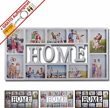 WOP ART Bilderrahmen Fotorahmen Collage Home 10x15
