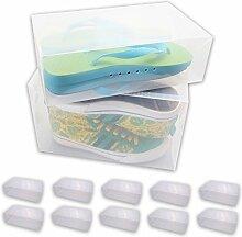 WOP ART Faltbare Schuhbox Stapel-Boy für