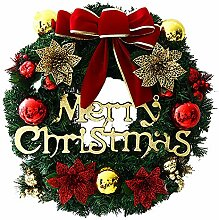 WopenJucy Der Festliche Weihnachtskranz Festlicher